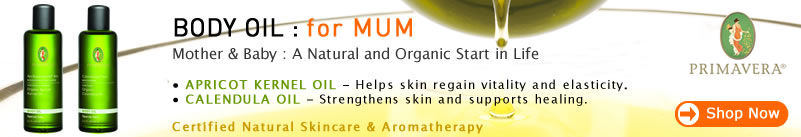 Primavera Certified Natural Skin Care - Body Oil for Mum