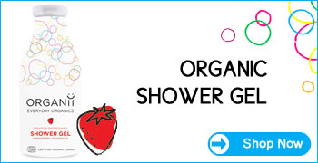 Organii Everyday Organics - Organic & Natural Shower Gel
