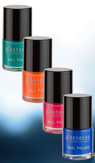 benecos natural beauty - 8 new on-trend, funcky nail polish shades