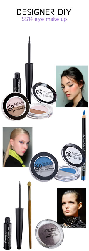 benecos natural beauty - designer DIY get set for SS14 with benecos eye makeup
