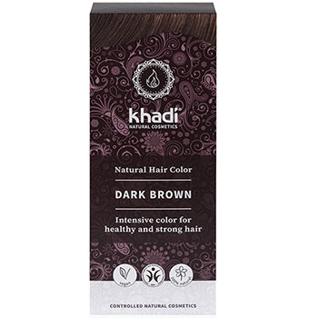 Khadi Herbal Hair Colour Dark Brown Natural Hair Colour