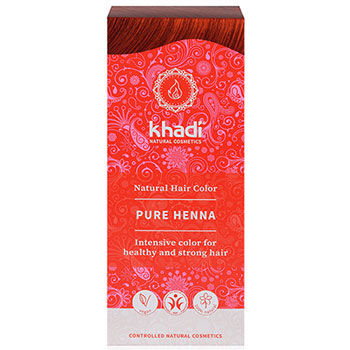 khadi herbal natural hair colour pure henna red