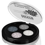 Lavera Organic & Natural Cosmetics - Trend Natural Make Up Quattro Eyeshadow 01 Smoky Grey