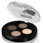 Lavera Organic & Natural Cosmetics - Trend Natural Make Up Quattro Eyeshadow 02 Cappucino Cream