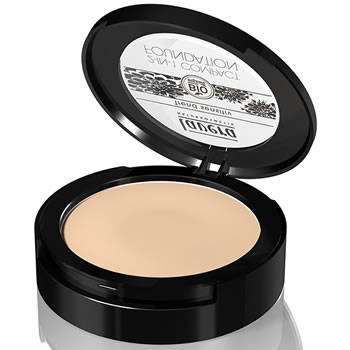 Lavera Organic & Natural Cosmetics - Trend Natural Make Up 2 in1 Compact Foundation 01 Ivory