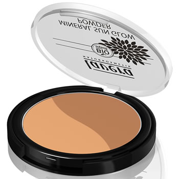 Lavera Organic & Natural Cosmetics - Trend Natural Make Up Sun Glow Powder 01 Golden Sahara