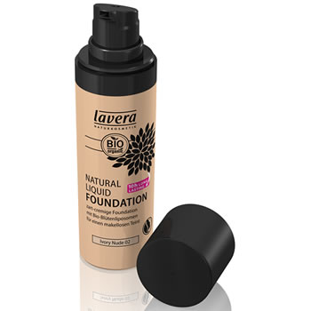 Lavera Organic & Natural Cosmetic Trend Natural Liquid Foundation 02 Nude Light