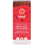 Khadi herbal hair colour henna amla jatropha