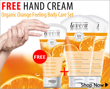 Special Offer Lavera Orange Feeling Bodycare set home page