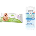 Organyc Baby Wipes with Free Lavera Baby Neutral Bubble Bath Special Offer thumb