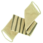 forsters stripped massage strap, organic cotton and linen