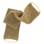 forsters coarse massage strap made with organic and natural indian flax