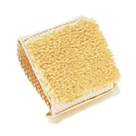 Forsters massage brush, sisal bristles cotton strap handle