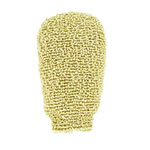 forsters chenille massage glove with organic chenille