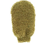Forsters massage wash glove, coarse, made from indian flax