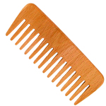 Forsters wooden comb, beech wood for curly hair