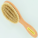 Forsters babies hair  brush with goat hair bristles and FSC eco friendly beech wood