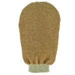 Forsters wellness massage glove, organic cotton and linen