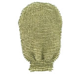 Forsters coarse massage glove, organic cotton and linen