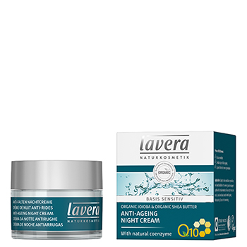 lavera Anti Ageing Night Cream Q10 Basis Sensitive