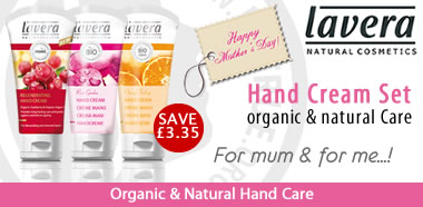 Lavera special offer hand cream set for Mothers day
