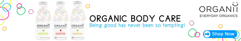 organii organic & natural body care - new shower gel