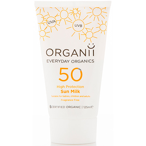 Image result for Organii SPF50 Sun Milk - High Protection