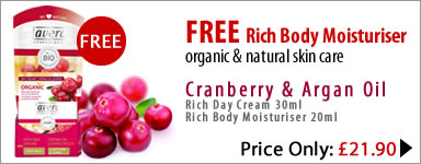 lavera organic & natural skin care - special offer