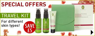 Primavera natural skin care - Special Offer - SAVE �5 on face care set