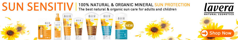 lavera organic & natural skin care - organic sun protection