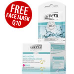 Lavera Special Offer - FREE Q10 Face mask with Q10 Moisturising Face Cream