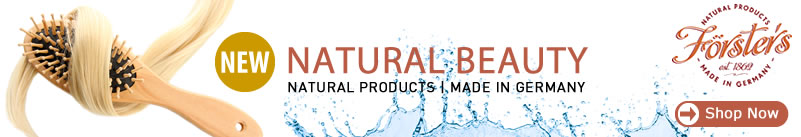 Forsters - Natural Products - Natural Beauty