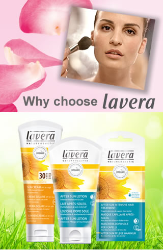 Lavera Organic & Natural Skin Care - Holiday Time - Lavera Organic Sun Protection and After Sun