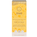 Khadi Semi Permanent Hair Colour Hint of Gold Natural Hair Colour