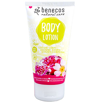 Benecos Body Lotion Pomegranate and Rose Natural Pravera
