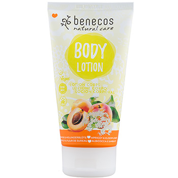 Benecos Body Lotion Apricot and Elderflower Natural