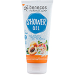 Benecos Shower Gel Apricot and Elderflower Body Wash