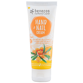 Benecos Hand and Nail Cream Sea Buckthorn and Orange