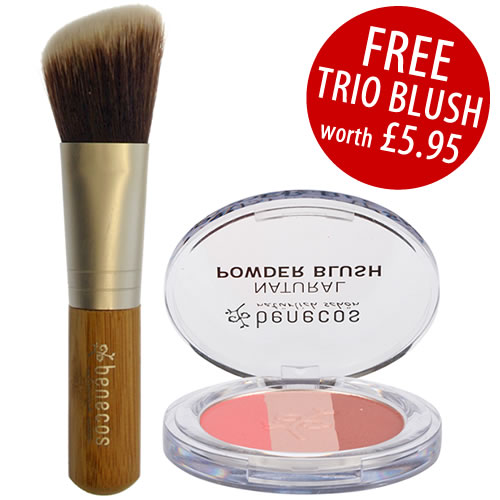 Benecos Blusher Brush with Free Benecos Trio Fall in Love ...