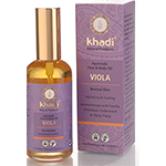Khadi Ayurvedic Face and Body Oil Viola for Normal Skin