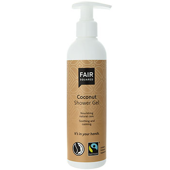 Fair squared coconut shower gel
