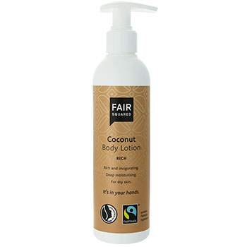 Fair Squared body lotion coconut