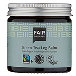 Fair Squared Green tea Leg Balm Fairtrade Zero Waste Plastic Free