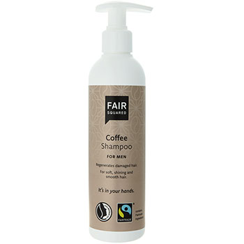 Fair squared coffee shampoo
