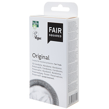 Fair Squared Condoms Original Fair Trade Condoms