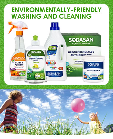 Sodasan - Products that work for people who care