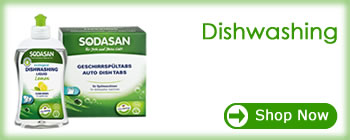 Sodasan - Products that work for people who care dishwashing