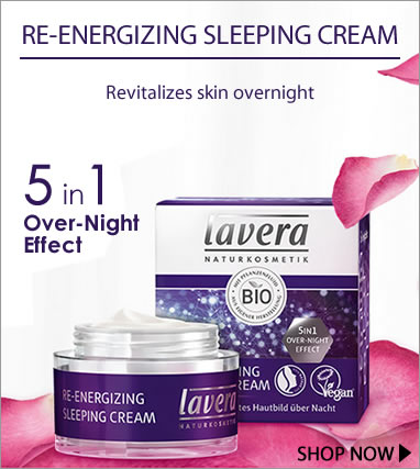 Lavera natural cosmetics - NEW Re-Energizing Sleeping Cream