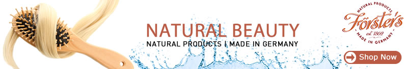 Forsters - Natural hair brush / Body & Bath Products