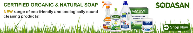SODASAN - NEW range of eco-friendly and ecologically sound cleaning products!